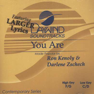You Are, Accompaniment CD   -     By: Darlene Zschech, Ron Kenoly