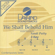 We Shall Behold Him, Acc CD   -     By: Sandi Patty