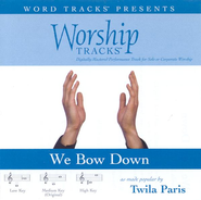 We Bow Down - Low key performance track w/o background vocals  [Music Download] -