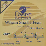 Whom Shall I Fear Acc, CD  -     By: Chris Tomlin