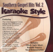 Southern Gospel Hits, Volume 2, Karaoke Style CD   -