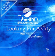 Looking For A City CD   -     By: The Goodmans