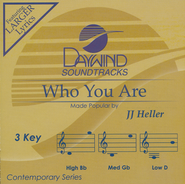 Who You Are Acc, CD  -     By: JJ Heller