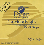 No More Night, Acc CD   -     By: David Phelps