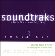 Upon This Rock, Acc CD   -     By: Sandi Patty