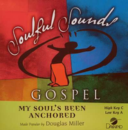 My Soul's Been Anchored, Acc CD   -     By: Douglas Miller