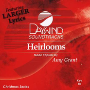 Heirlooms, Accompaniment CD   -     By: Amy Grant