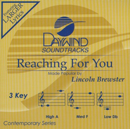 Reaching For You, Accompaniment CD   -     By: Lincoln Brewster