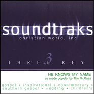 He Knows My Name, Acc CD   -     By: The McRaes