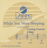 While You Were Sleeping Accompaniment CD   -     By: Casting Crowns