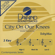 City On Our Knees, Accompaniment CD   -     By: TobyMac