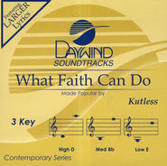 What Faith Can Do, Acc CD   -     By: Kutless
