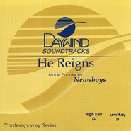 He Reigns, Acc CD   -     By: The Newsboys