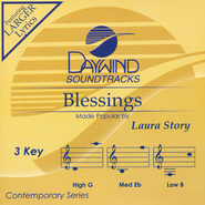 Blessings, Acc CD   -     By: Laura Story