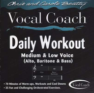 Daily Workout (Medium & Low Voice) CD   -     By: Chris Beatty, Carole Beatty