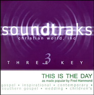 This Is The Day, Accompaniment CD   -     By: Fred Hammond