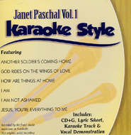 Janet Paschal Volume 1, Karaoke Style CD   -     By: Janet Paschal