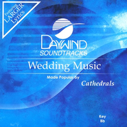 Wedding Music, Accompaniment CD   -     By: The Cathedrals