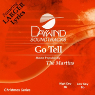 Go Tell, Accompaniment CD   -     By: The Martins