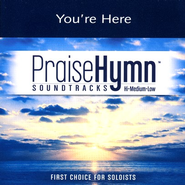 You're Here, Accompaniment CD   -     By: Francesca Battistelli