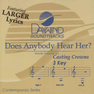 Does Anybody Hear Her, Accompaniment CD   -     By: Casting Crowns