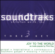 Joy To The World, Accompaniment CD   -     By: Third Day