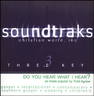 Do You Hear What I Hear? Accompaniment CD   -     By: Todd Agnew