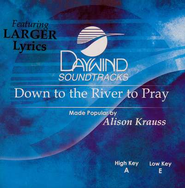 Down To The River To Pray, Acc CD   -     By: Alison Krauss