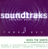 When The Saints, Accompaniment CD   -     By: Sara Groves