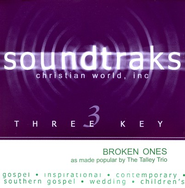 Broken Ones, Accompaniment CD   -     By: The Talley Trio