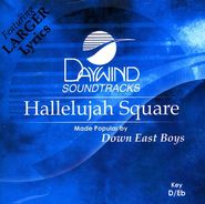Hallelujah Square, Acc CD   -     By: Down East Boys