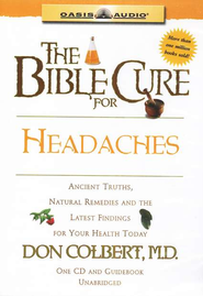 The Bible Cure for Headaches: Ancient Truths, Natural Remedies and the Latest Findings for Your Health Today - Unabridged Audiobook  [Download] -     Narrated By: Greg Wheatley     By: Don Colbert M.D.