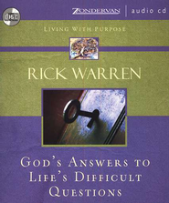 God's Answers to Life's Difficult Questions Audiobook  [Download] -     By: Rick Warren