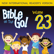 Bible on the Go Vol. 23: The Story of Nehemiah; Ezra Reads the Law (Nehemiah 1-2, 6-10; Ezra 5-6, 8-9) - Unabridged Audiobook  [Download] -