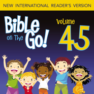 Bible on the Go Vol. 45: Paul and Silas; Priscilla and Aquila; Paul's Letter to the Romans (Acts 16, 18, 20; Romans 1, 5, 8, 12) - Unabridged Audiobook  [Download] -