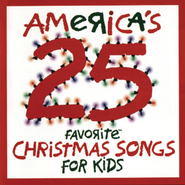 America's 25 Favorite Christmas Songs for Kids  [Music Download] -     By: Various Artists