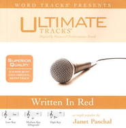 Written In Red - Medium key performance track w/o background vocals  [Music Download] -     By: Janet Paschal