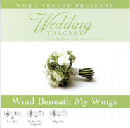 Wind Beneath My Wings - Medium key performance track w/o background vocals  [Music Download] -