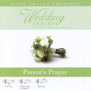 Parent's Prayer - Medium key performance track w/o background vocals  [Music Download] -
