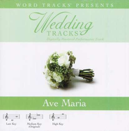Wedding Tracks - Ave Maria [Performance Track]  [Music Download] -