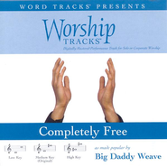 Completely Free - Low key performance track w/ background vocals  [Music Download] -     By: Big Daddy Weave