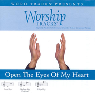 Open The Eyes Of My Heart - Medium key performance track w/o background vocals  [Music Download] -