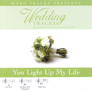 You Light Up My Life - Medium key performance track w/o background vocals  [Music Download] -