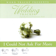 I Could Not Ask For More - High key performance track w/ background vocals  [Music Download] -