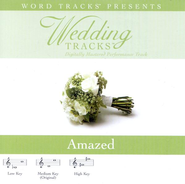 Amazed - High key performance track w/o background vocals  [Music Download] -     By: Various