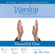 Beautiful One - Medium key performance track w/ background vocals  [Music Download] -     By: By The Tree