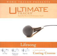 Lifesong - Low key performance track w/o background vocals  [Music Download] -     By: Casting Crowns