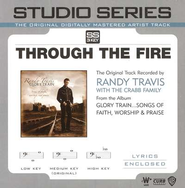 Through The Fire - Low key performance track w/o background vocals  [Music Download] -     By: Randy Travis
