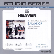 Heaven - Original key performance track w/ background vocals  [Music Download] -     By: Salvador