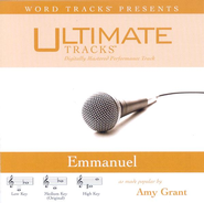 Emmanuel - High key performance track w/o background vocals  [Music Download] -     By: Amy Grant